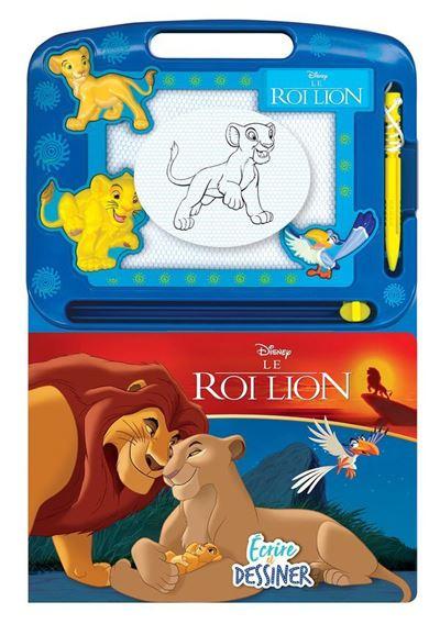 Ecrire et Dessiner Le Roi Lion