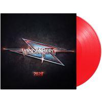 2020 Vinyle Rouge Transparent