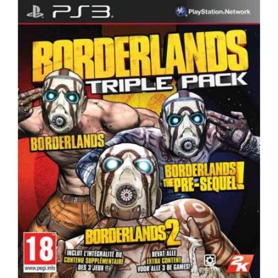 Borderlands Triple Pack PS3