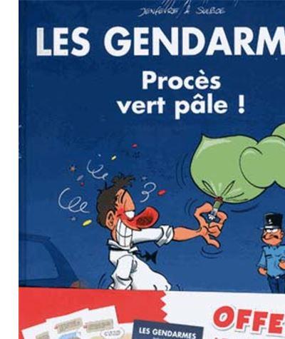 Les Gendarmes t2 calendrier 2018 offert