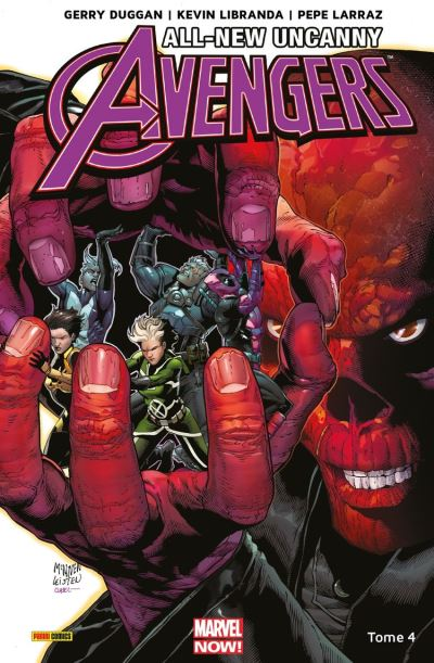 All-New Uncanny Avengers T04 - Crâne rouge - 9782809482065 - 12,99 €