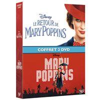 Coffret Mary Poppins et Le retour de Mary Poppins DVD