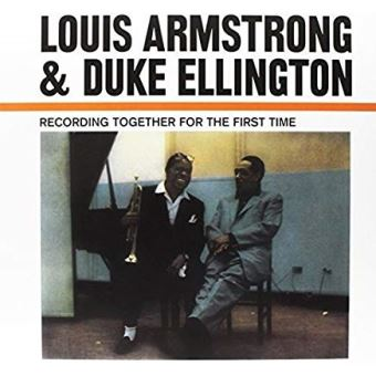 together again louis armstrong duke ellington lp vinylplaten. Black Bedroom Furniture Sets. Home Design Ideas