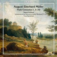 Concertos pour flûte numéros 1, 3 et 10