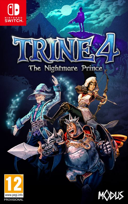 Trine 4 The Nightmare Prince Nintendo Switch