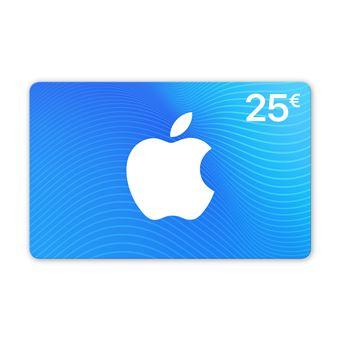 Carte App Store Itunes De 25 Top Prix Fnac