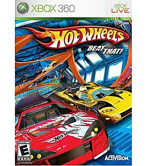 Hotwheels Xbox 360