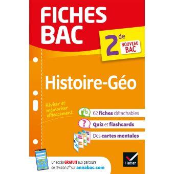 Fiches Bac Histoire Geographie 2de