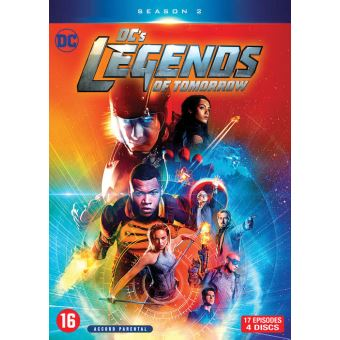 DC's Legends of TomorrowDC's Legends of Tomorrow Saison 2 DVD