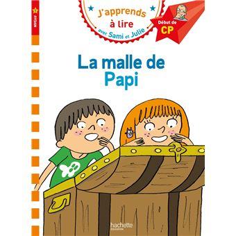 SAMI ET JULIE PREMIERES LECTURSami et Julie CP Niveau 1 La malle de Papi