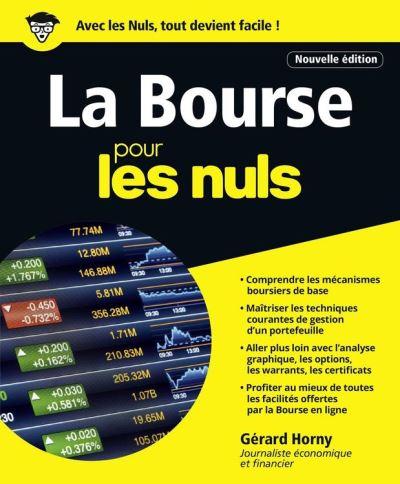 La Bourse pour les Nuls - 4e édition - 9782412027783 - 15,99 €