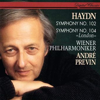 Haydn symphonies nos 102 and 1