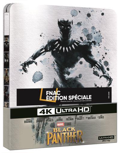 Black Panther  Black-Panther-Edition-Fnac-Steelbook-Blu-ray-4K-Ultra-HD