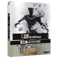 Black Panther Edition Fnac Steelbook Blu-ray 4K Ultra HD Livraison à partir du 22/6