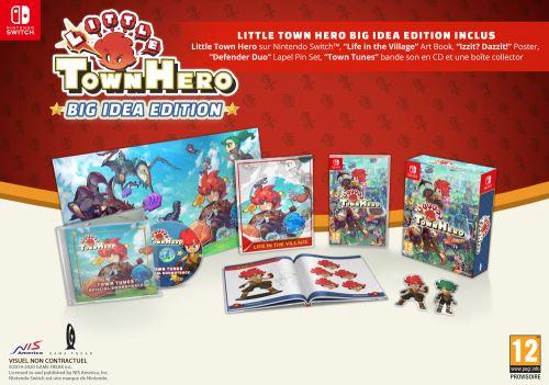 Little Town Hero Big Idea Edition Nintendo Switch