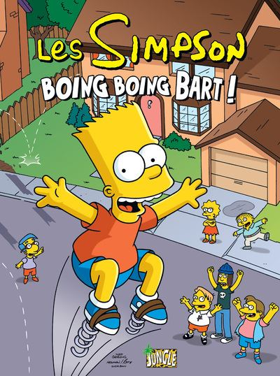 Les simpson - tome 5 Boing Boing Bart !