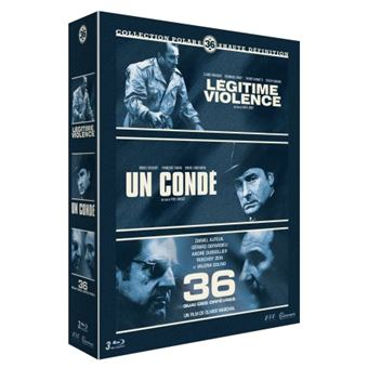 Coffret Polar Le 36 3 Films Blu-ray