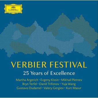 Verbier Festival 25 Years Of Excellence Coffret Edition limitée Inclus livre