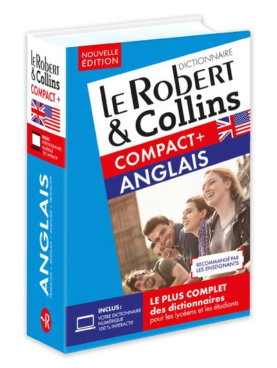 Dictionnaire le robert et collins compact plus anglais