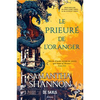 Le Prieuré de l'Oranger (broché) - broché - Samantha Shannon ...