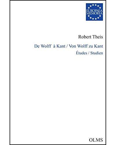 De Wolf à Kant
