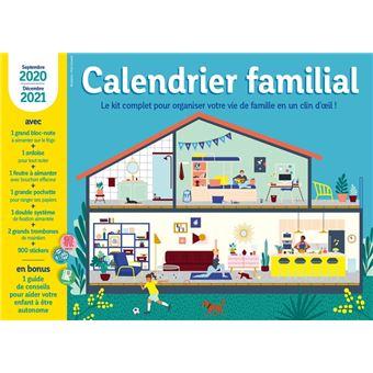 Calendrier Familial 2021 Calendrier familial 2020 2021 Septembre 2020 decembre 2021