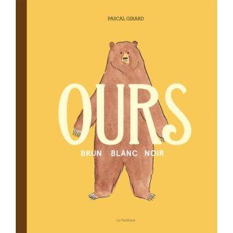 Ours brun, blanc, noir