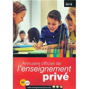Annuaire officiel de l'enseignement privé