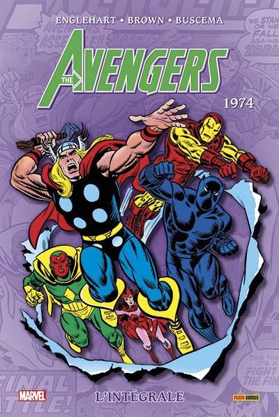 Avengers integrale t11 1974