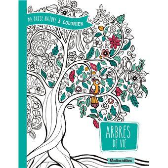 Cahier de coloriage arbres de vie broch marica - Cahier de coloriage gratuit ...