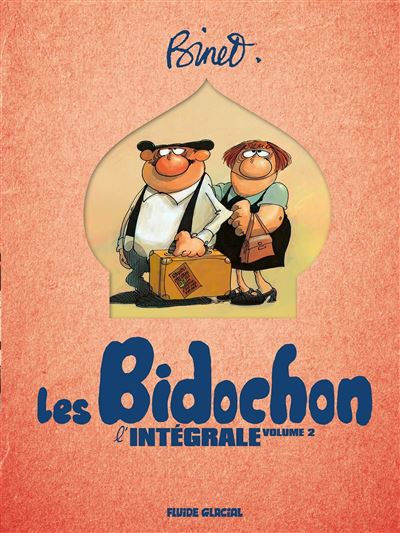 Binet & Les Bidochon - intégrale volume 02 - tomes 05 à 08