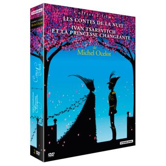 Coffret Les contes de Michel Ocelot DVD