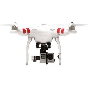 drone dji phantom 2 nacelle pour gopro hero4 noire drone photo vid o achat prix fnac. Black Bedroom Furniture Sets. Home Design Ideas
