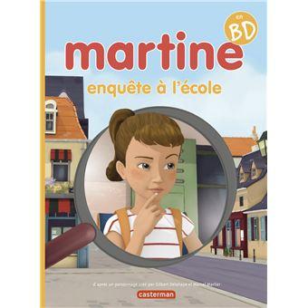 Martine en BD - Tome 1 - Martine détective - Marcel