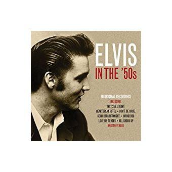 ELVIS IN THE 50S/3CD