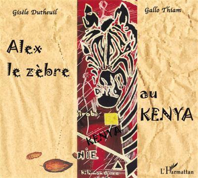 Alex le zèbre au Kenya