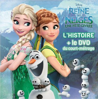 la reine des neiges une histoire un film avec un dvd reine des neiges une fte givre livredvd collectif livre cd achat livre achat - Reine Neige 2