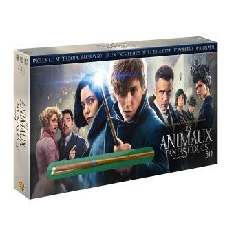 Les Animaux FantastiquesLes Animaux Fantastiques Coffret Steelbook Blu-ray 3D + 2D