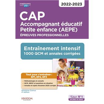 Cap Accompagnant Educatif Petite Enfance 2020 2021