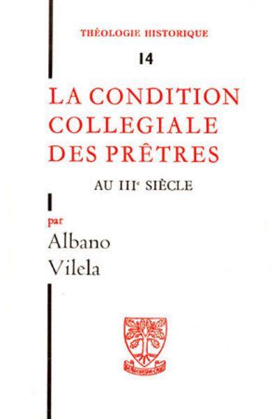 Condition des pretres au iiie