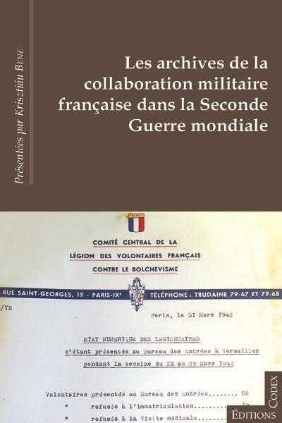 Archives de la collaboration militaire française dans la Seconde Guerre mondiale
