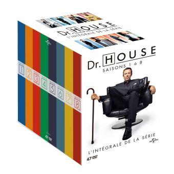 Dr HouseCoffret Dr. House L'intégrale DVD