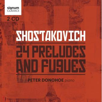 24 PRELUDES AND FUGUES/2CD