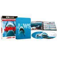 Les Dents de la mer Edition Collector Steelbook Blu-ray 4K Ultra HD