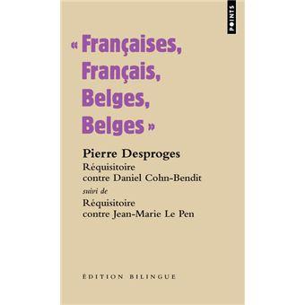 Françaises, Français, Belges, Belges