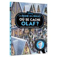 LA REINE DES NEIGES - Où se cache Olaf ? - Cherche et trouve - Disney