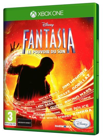 Disney Fantasia Le Pouvoir du son XBox One