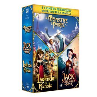 Coffret Contes féeriques 3 films DVD