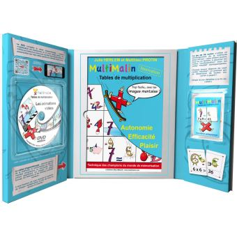 Coffret Multimalin, Tables de multiplication