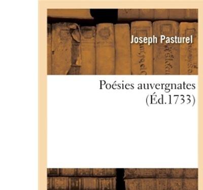 Poésies auvergnates de Mr Joseph Pasturel